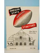 1956 Oregon State v Stanford - Hight School Ban... - $23.20