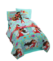 Disney Elena of Avalor Twin Reversible Comforter Set 132 Thread Tsum Tsu... - $151.47