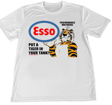 Esso Put A Tiger In the Tank Wicking T-Shirt w American Flag Car Coaster - $14.80+