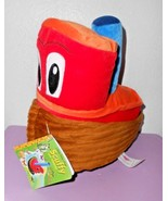 Kohls Cares Scuffy Tugboat Golden Book Boat Red Brown Plush Stuffed Toy ... - $11.86