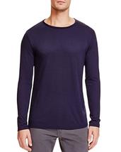 "NWT Twenty Tees Mens' Medium Navy ""Dawson"" Long Sleeve Crewneck Tee Shirt - $38.56"