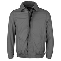 Men's Microfiber Golf Sport Water Resistant Zip Up Windbreaker Jacket Benny (XL,