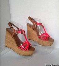 NEW Authentic Coach Georgiana Pink/Ginger Sandals - $62.95