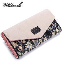 Printing Women Wallets Leather Purse Clutch Large Capacity WBS125 - $21.96 CAD