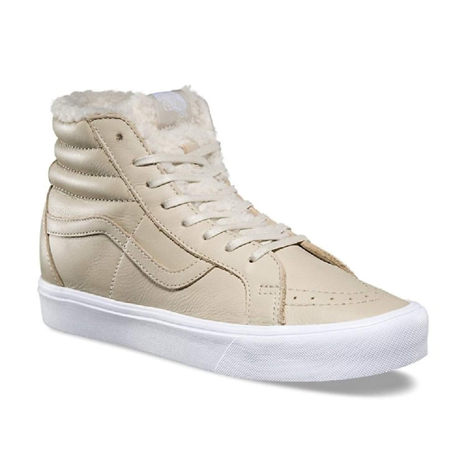 Primary image for Vans Sk8 Hi Reissue Lite (Sherpa) Cement True White Faux Fur Warm Men's 8
