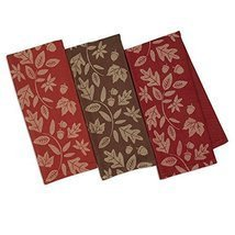 DII Design Imports Fall Harvest Vine Soft Cotton Jacquard Kitchen Dish T... - €14,93 EUR