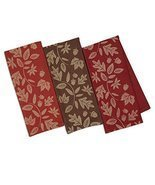 DII Design Imports Fall Harvest Vine Soft Cotton Jacquard Kitchen Dish T... - €14,95 EUR