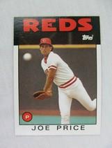 Joe Price Cincinnati Reds 1986 Topps Baseball Card Number 523 - $0.98