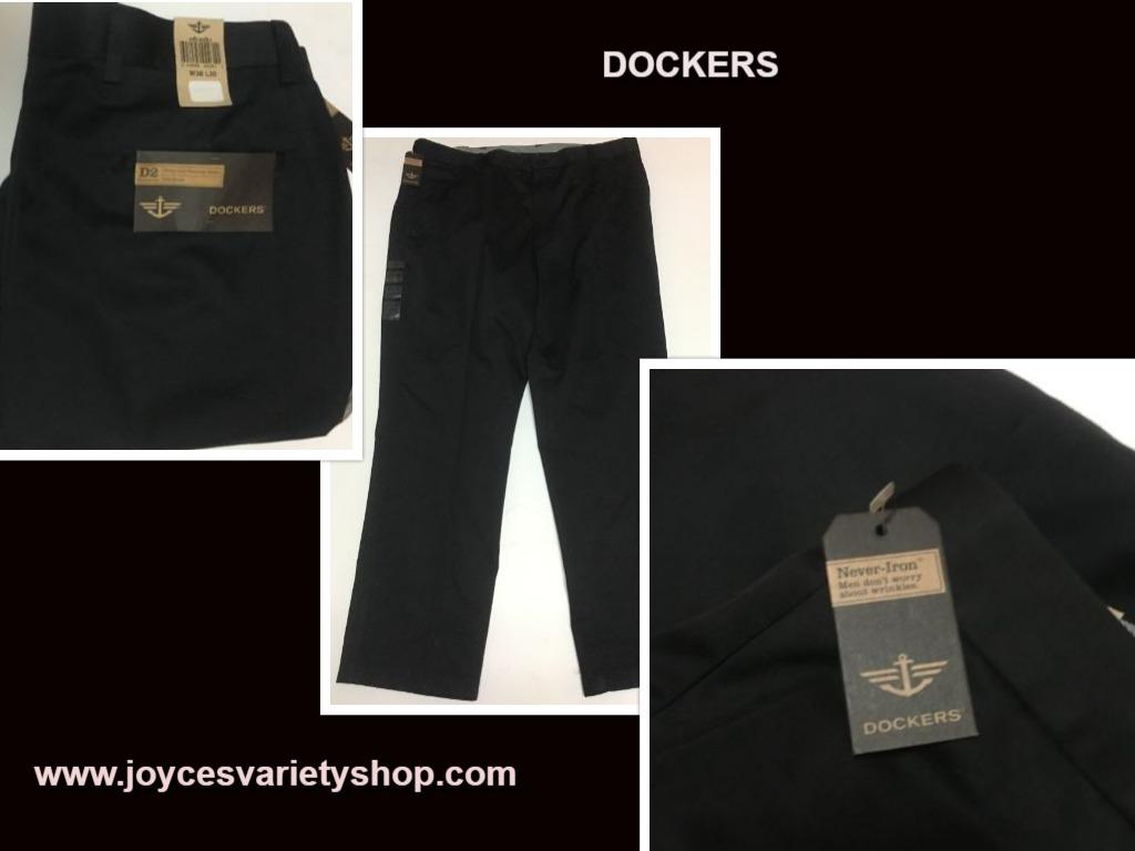 Dockers black 38 30 web collage