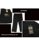 Dockers Never Iron Khaki Pants Black Men's 38/30 - $19.99
