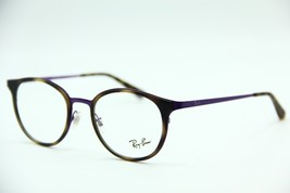 e6aed42299 NEW RAY-BAN RB 6372M 2956 TORTOISE EYEGLASSES AUTHENTIC FRAME RX RB6372M.