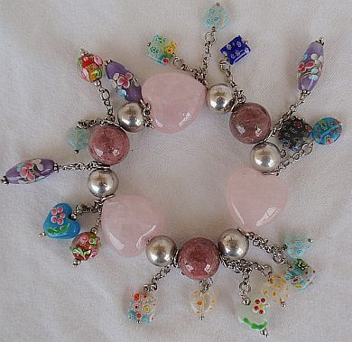 Primary image for Festival Charms Italian bracelet