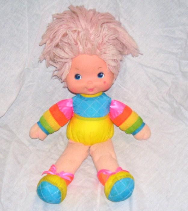 Rainbow brite baby brite doll 1983