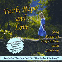 FAITH, HOPE & LOVE by Susanna - HBCD98  - $21.95