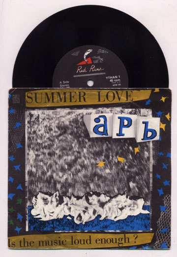"Primary image for punk funk APB Summer Love RED RIVER 1985 uk 7"" PS"