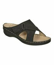Pierre Dumas, Black Crisscross Face Sandal, Sz 10 - $23.76