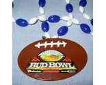 BUD BOWL Arizona '08 football plastic souvenir necklace FREE