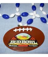 BUD BOWL Arizona '08 football plastic souvenir necklace FREE - Freebie