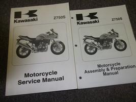 2005 Kawasaki Z750S MOTORCYCLE Service Shop Repair Manual SET W Assembly Book - $158.35