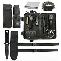 Deyace Emergency Survival Kits, [2018 UPGRADED] Ultimate Professional To... - $30.01