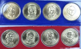 2008 P & D Presidential uncirculated dollars in mint cello - $31.00