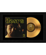 """""""The Doors"""" 17 x 26 Framed 24kt Gold Album with Album Cover  - $198.95"""