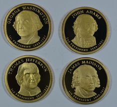 2007 S Presidential proof dollars  - $12.50