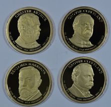 2012 S Presidential proof dollars  - $64.00