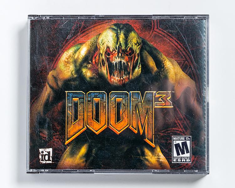 Doom3 pc game front