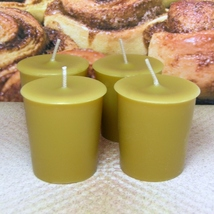 Cinnamon Bun Votives Set of 4 - $7.00
