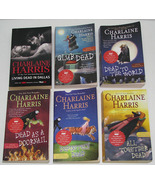Lot of 6 PB books by Charlaine Harris, Sookie Stackhouse Novels True Blood - $24.00