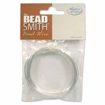 German BEAD WIRE~SILVER PLATED/Copper Core ~  4 Gauges - $5.99