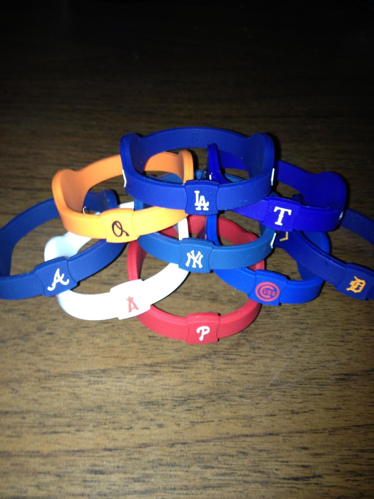 MLB Power Energy Bracelets