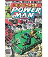 Luke Cage, Power Man Comic Book #40, Marvel Comics 1977 VERY FINE+ - $9.74
