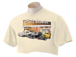 "T Shirt American Graffiti Mels Drive In ""Mels Trio"" - $26.50"