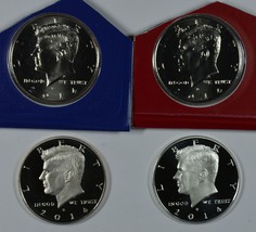 2014 P D S S Kennedy Uncirculated & Proof Half Dollars - $41.00