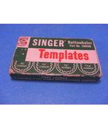 Singer Featherweight 221 Buttonholer Templates Part 160506 - $9.95
