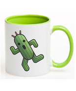 Final Fantasy CACTUAR Ceramic Coffee Mug CUP 11oz - ₨953.36 INR