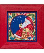 Santa 2014 Winter Series cross stitch kit Jim S... - $14.50