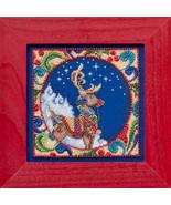 Reindeer 2014 Winter Series cross stitch kit Ji... - $14.50