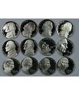 2000 - 2009 S Jefferson Proof nickel set - $19.00
