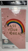 The Happy Planner Dashboards Classic Chase Your Dreams 3 Piece Set New - $10.39