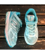 New Balance 680v3 Toddler Blue Agua Girl Running Shoes Athletic KA680OWI... - $19.79