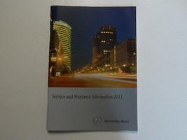 2011 Mercedes Benz Service & Garantie Information Booklet Manuell Fabrik... - $13.81