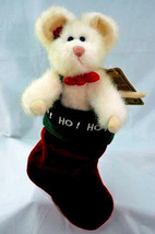 """Boyds Bears """"Harvarti Chrismouse""""- 6"""" Mouse/Stocking- #94864GCC- Exclusive-NWT - $22.99"""