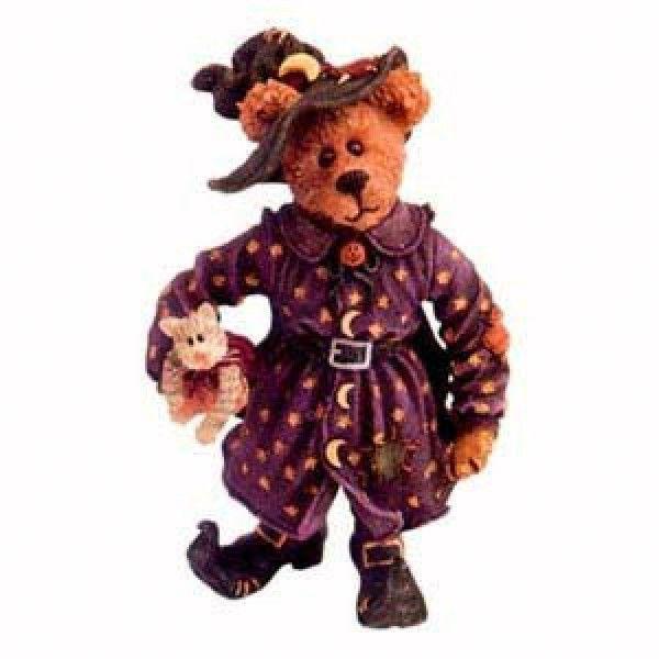 "Boyds Shoebox Bears ""Hazel Spooksbeary""  Style #3225- NIB- 2004- Retired"