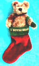 "Boyds Bears ""Felicity S Elfberg""- 5.5"" Plush Bear/Stocking- #917300- NWT-1997 - $19.99"