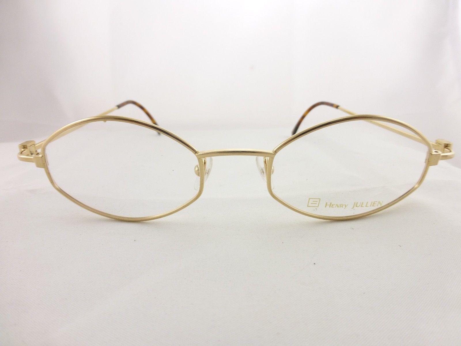 Glasses Frame Made In France : Authentic Henry Jullien eyeglasses Gold frame, Made in ...