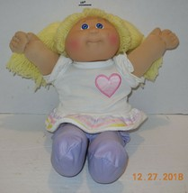 1985 Coleco Cabbage Patch Kids Plush Toy Doll CPK Xavier Roberts OAA Blo... - $31.56