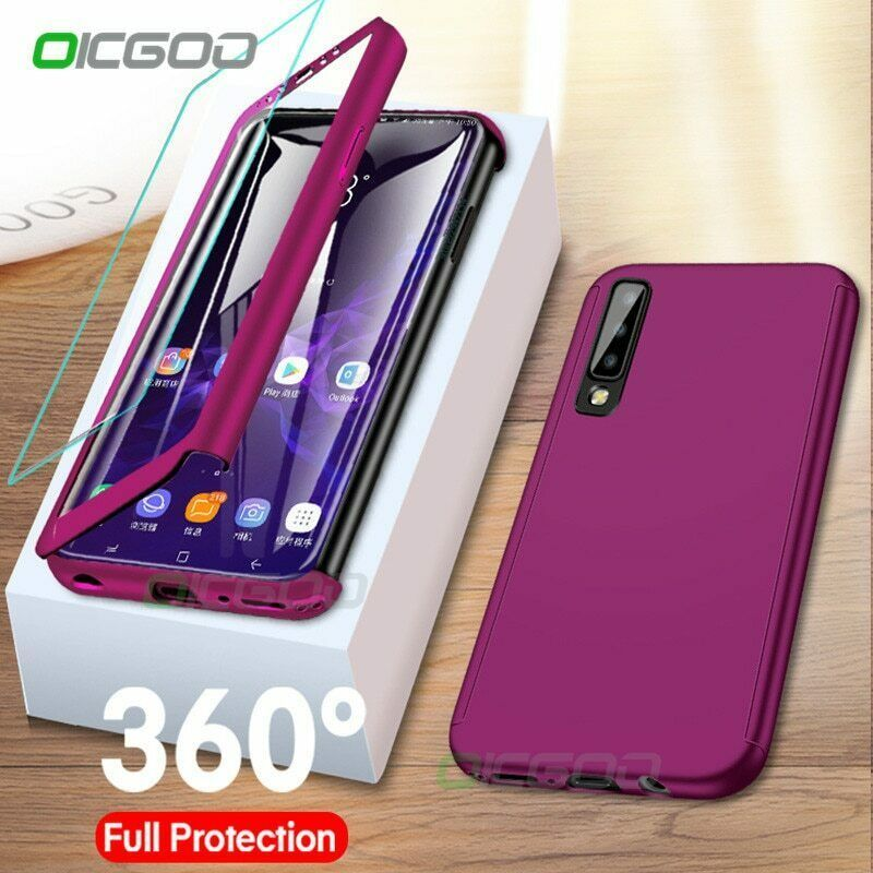 Primary image for 360 Degree Phone Case For Samsung Galaxy J4 J6 A6 A8 Plus J8 A7 2018 Full Cover